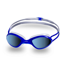 Head Tiger Race Mirrored LiquidSkin Goggles, clear-blu-blue
